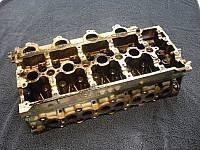 verölter Zylinderkopf, Ölkohleablagerung Ventilsitz, Peugeot Vierzylinder Reparatur