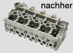 Restauration Zylinderkopf, Reparatur Motor Rennmotorrad, ABP-Racing GmbH
