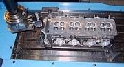 Zylinderkopfreparatur, Injektor ausfräsen, Ventil Instandsetzung